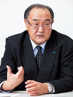 震災の翌朝には石巻市へ自らトラックで向かい、状況把握を図った、東日本支社 支社長の荒井茂幸氏